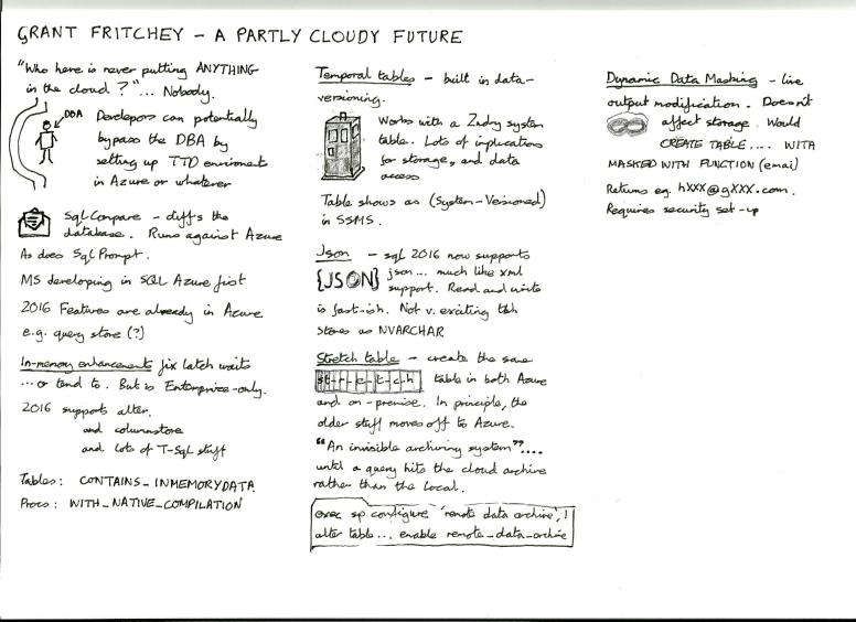 Fritchey, Grant - A partly cloudy future